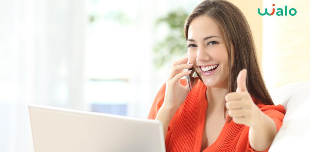 Des appels clients réussis avec Wialo télésecrétariat prépayé sans engagement